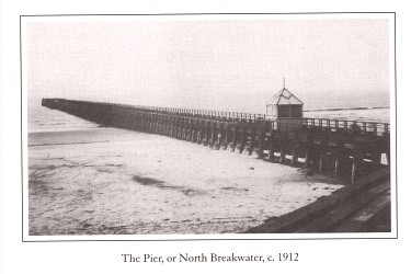 Photo of old pier at Aberafan