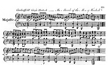 Early published version of the melody.